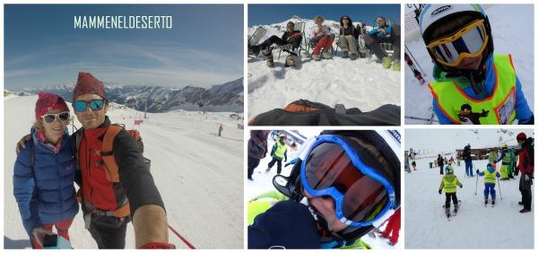 Bambini, neve, scuola di sci, divertimento e bella compagnia!