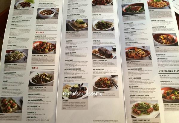 P f chang 39 s il perfetto ristorante cinese mamme nel for Menu cinese