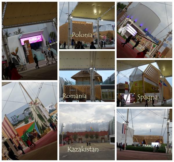 il mondo all'expo di milano