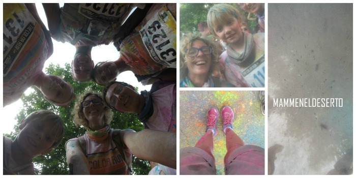 be shine the color run