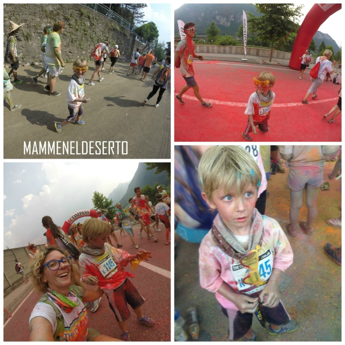 the color run bambini