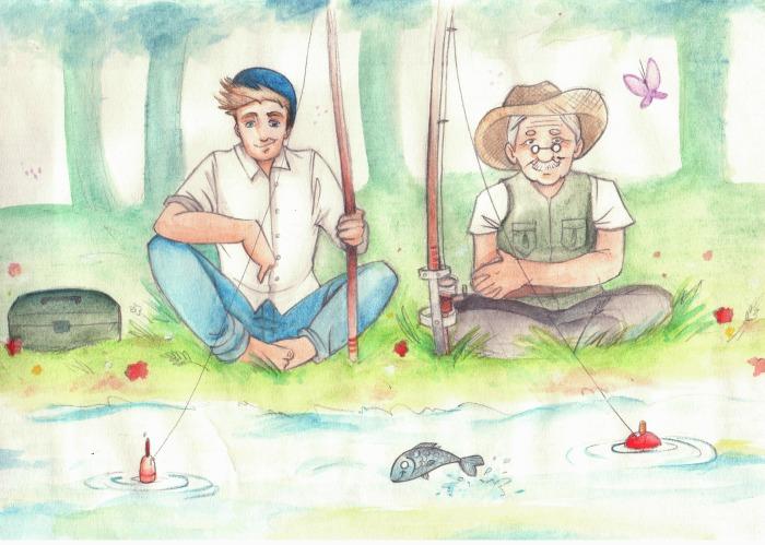 8 - scena pesca
