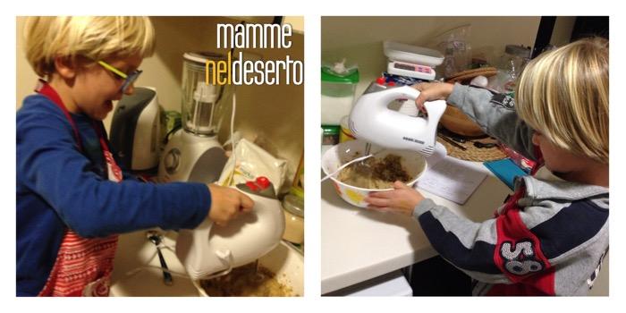 preparare biscotti coi bambini