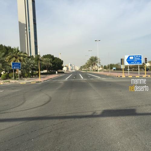 la mitica e inimitabile Arabian Gulf Road