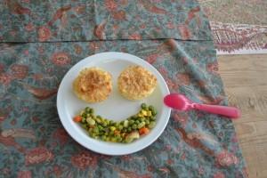 muffin di patata