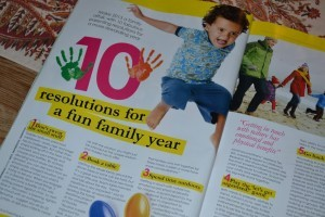 10 resolutions for a fun family year