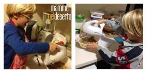Preparare biscotti per punizione