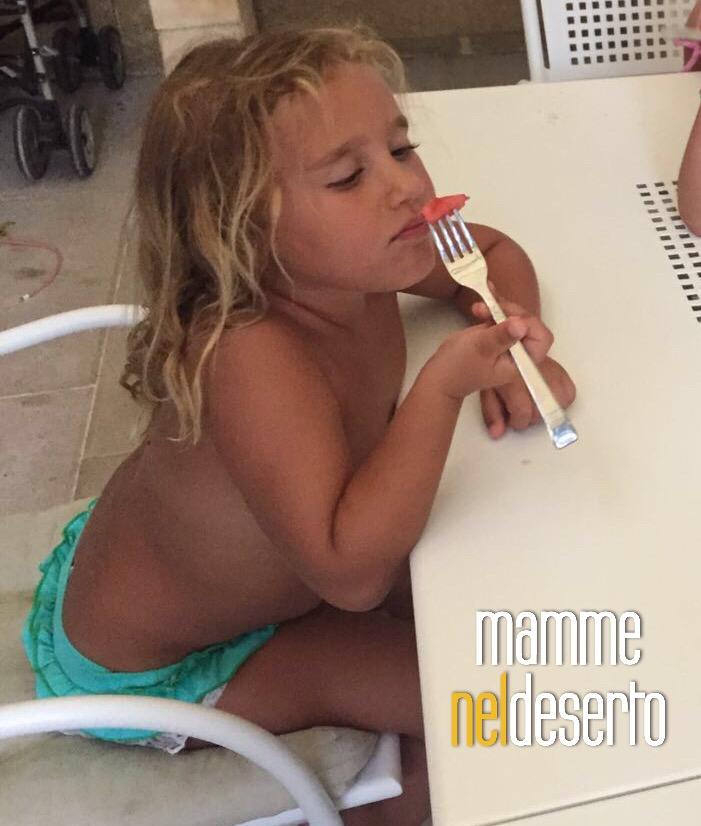 mia figlia non mangia frutta
