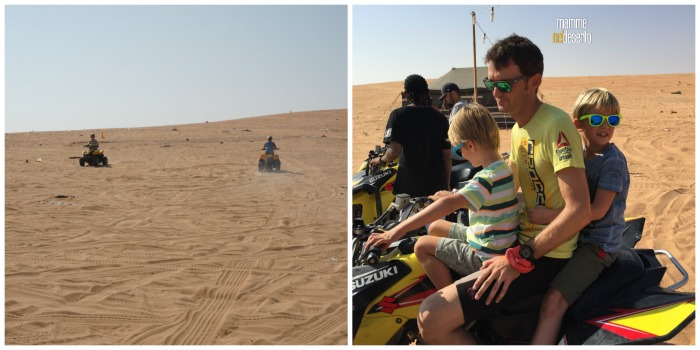 un sabato nel deserto - Mamme nel desertp