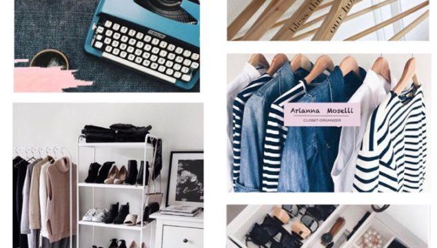 Il segreto di una vita felice: un armadio organizzato